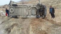 Günyüzü'nde Trafik Kazası, 1 Yaralı