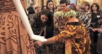 KATE MİDDLETON - Cambridge Düşesi Middleton, Türk modacının tasarımını giydi