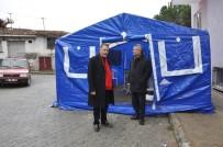KAPALI MEKAN - Buldan Belediyesi İlçede Taziye Çadırı Uygulaması Başlattı