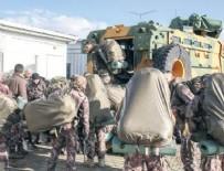 Jandarma ve Polis Özel Harekat Timleri Hassa sınırından Afrin'e girdi