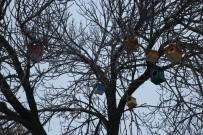 Ağrı'da 'Kuş Evleri' Yapıldı