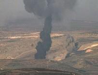 Türk savaş uçakları Afrin'de terör örgütü PYD/PKK'ya ait hedefleri vuruyor