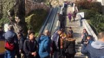 CENGİZ HAN - 8 Öğrencinin Yaralandığı Yürüyen Merdiven Kazası Güvenlik Kameralarında