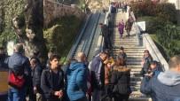 CENGİZ HAN - Yürüyen Merdivende Can Pazarı Açıklaması 8 Yaralı