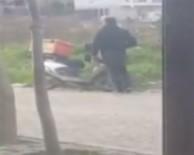 ADIL DEMIR - Fırsatçı Motosiklet Hırsızı Kamerada