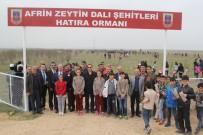 Cihanbeyli'de Şehitler İçin 500 Fidan Toprakla Buluşturuldu
