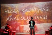ERCAN ÖZDEMIR - Hizan'da 'Bir Ses Bir Nefes' şiir dinletisi