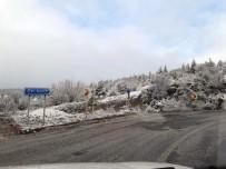 Derbent'e Kar Sürprizi