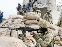 ROKETATARLAR - Afrin'de son durum! Hazır bekliyorlar...
