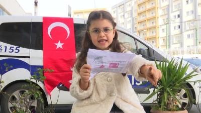Küçük Oyuncu Zülal Memişoğlu'ndan Afrin'deki Mehmetçik'e Mektup