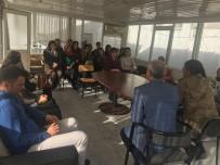 ADAY ÖĞRETMEN - Aday Öğretmenler İlçe Jandarma Komutanlığını Ziyaret Etti