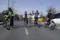 BURCU ÇETINKAYA - 8'İnci Yeşilay Bisiklet Turunda 2 Bin Bisikletsever Pedal Çevirdi