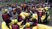 Melen Çayı Raftingcileri Ağırlıyor