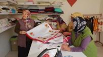 LAZCA - Yardıma Muhtaç Aileler İçin Terzi Dükkanı Açtı