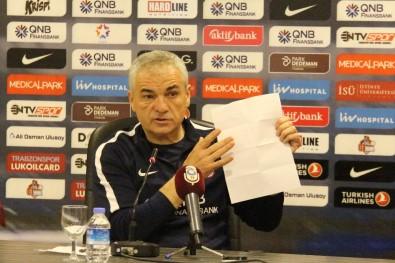 'Ankara'da bizi çok zor bir maç bekliyor'