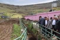 Kilis'te Dolu Ve Yağmurun Neden Olduğu Hasar Tespit Ediliyor