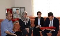 MUSTAFA CANLı - Şehit Ömer Bilal Akpınar'ın Şehadet Belgesi Ailesine Teslim Edildi