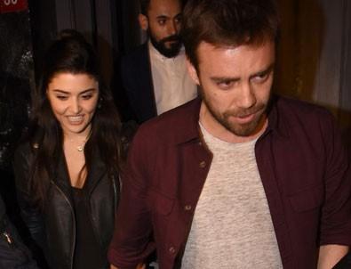 Murat Dalkılıç sevgilisi Hande Erçel ile el ele görüntülendi