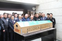 HAKAN TAŞIYAN - Ünlü Şair Cemal Safi Ankara'da Son Yolculuğuna Uğurlandı