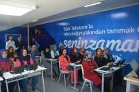 SKYPE - Türk Telekom'dan Korkutelili Kadınlara Teknoloji Eğitimi