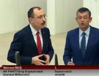 TBMM GENEL KURULU - CHP'li Özel'in o sözlerine AK Partili Muş'tan tokat gibi yanıt