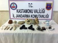 Evinde Patlayıcılarla Yakalanan Tarihi Eser Kaçakçısı Gözaltına Alındı