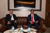 KEREM AL - Başkan Asya, Milletvekili Aday Adayı Al'ı Makamında Ağırladı
