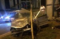 KİRAZLIK MAHALLESİ - Samsun'da Trafik Kazası Açıklaması 2 Yaralı