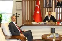 KARASAR - Kapadokya Üniversitesi Rektörü Karasar'dan NEVÜ Rektörü Bağlı'ya Ziyaret