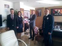 Polis Teşkilatından Başkan Arslan'a Ziyaret