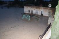 Şanlıurfa'da Evleri Su Bastı, Hayvanlar Telef Oldu
