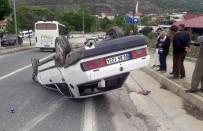 Çocuk Sürücünün Kullandığı Otomobil Takla Attı Açıklaması 2 Yaralı