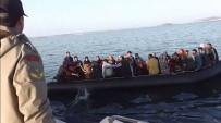 20 Kişilik Botta 57 Mülteci Yakalandı