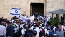 ŞAM KAPISI - İsrailliler Doğu Kudüs'ün İşgalini Kutladı