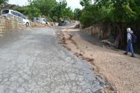 Yeşilli'de Etkili Olan Yağışlar Alt Yapı Ve Üst Yapıya Büyük Zarar Verdi