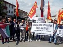 HALKIN KURTULUŞ PARTİSİ - İsrail'in Ankara Büyükelçiliği Önünde Eylem