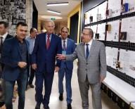 EDİZ HUN - Ediz Hun'dan Güzel Sanatlar Fakültesine Ziyaret