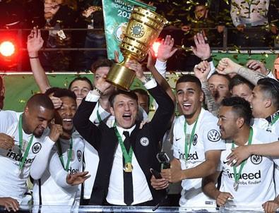 Almanya Kupası'nı Eintracht Frankfurt kazandı