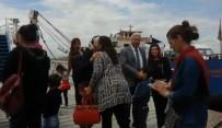 Pertek Belediyesinden Kadın İşçilere Feribot Gezisi
