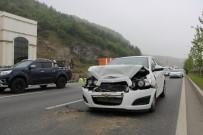 KİRAZLIK MAHALLESİ - Samsun'da Trafik Kazası Açıklaması 1 Yaralı
