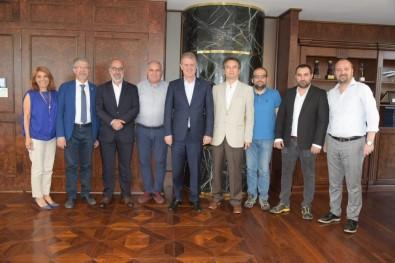 TSYD İzmir Şubesinden Mahmut Özgener'e Ziyaret