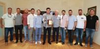 MEHMET ESEN - Yalıkavakspor  Yöneticilerinden Başkan Kocadon'a Ziyaret