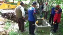 Afyonkarahisar'da Kuyuya Düşen İnek Kurtarıldı