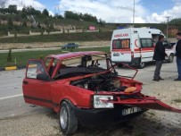Kastamonu'da İki Otomobil Çarpıştı Açıklaması 1 Ölü, 3 Yaralı
