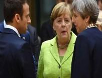 İngiltere, Almanya ve Fransa'dan ortak bildiri