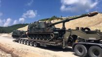 FIRTINA OBÜSÜ - Suriye Sınırına Askeri Sevkiyat