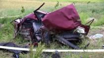 Yozgat'ta Otomobil Devrildi Açıklaması 1 Ölü, 3 Yaralı