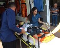 Şanlıurfa'da Otomobil Devrildi Açıklaması 1'İ Çocuk 2 Yaralı