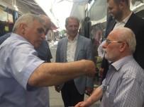 ALI İNCI - Başkan Dişli Ve Milletvekili Adayı İnci'den Uzunçarşı Esnafına Ziyaret