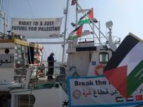 CADIZ - Filistin İçin Yola Çıkan 5. Özgürlük Filosu, Cadiz Limanı'na Ulaştı